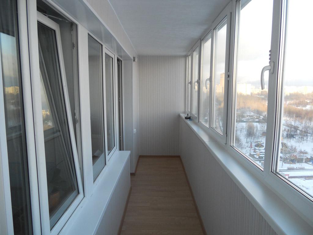 Отделка мдф панелями балкона п 44. - как установить балконны.